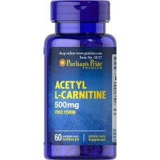 Acetyl L-Carnitine 500 mg