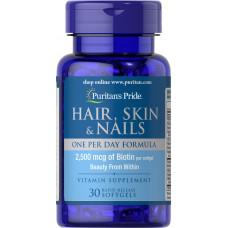 Hair, Skin & Nails One Per Day Formula